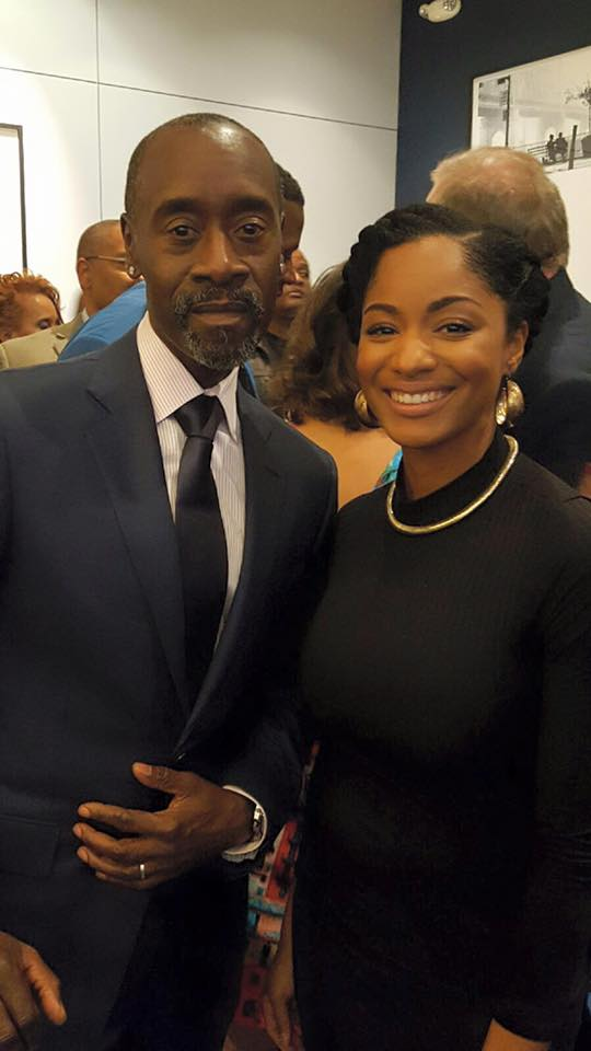 Chanelle and Don Cheadle
