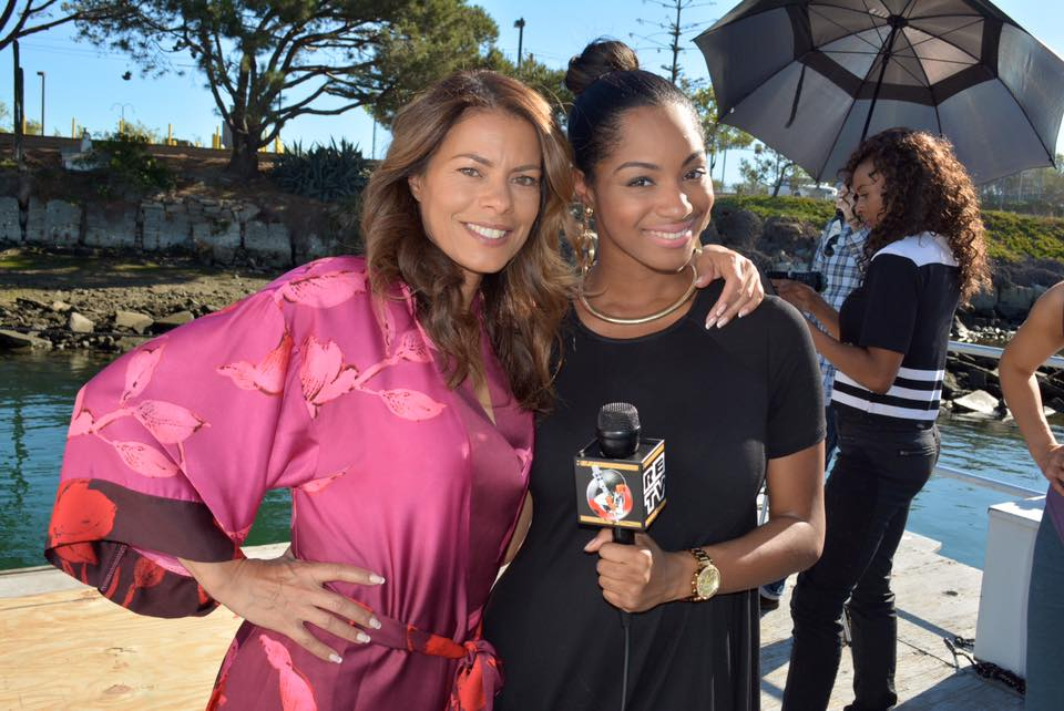 Lisa Vidal and Chanelle