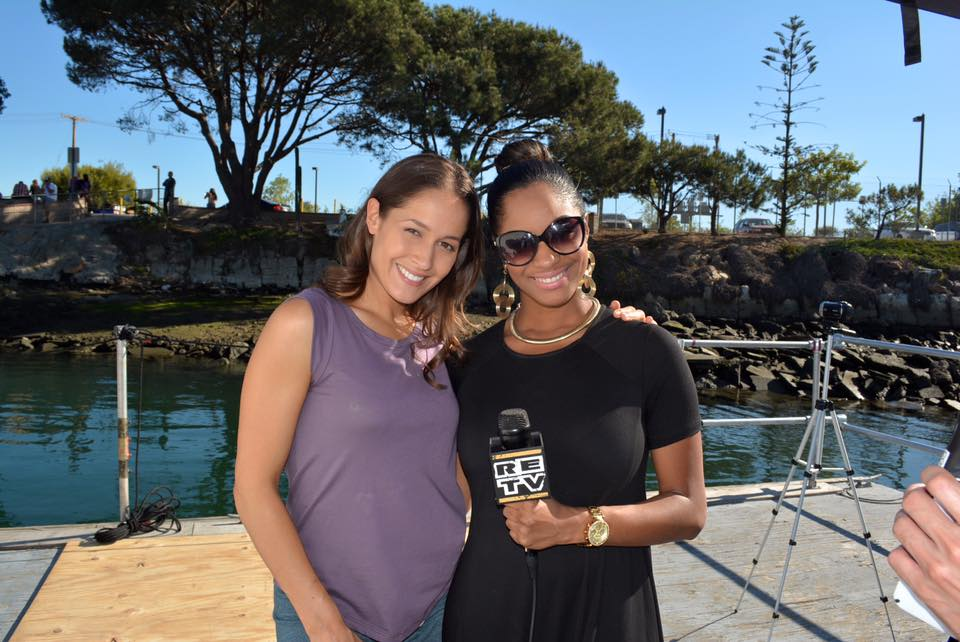 Jaina Lee Ortiz and Chanelle Wright